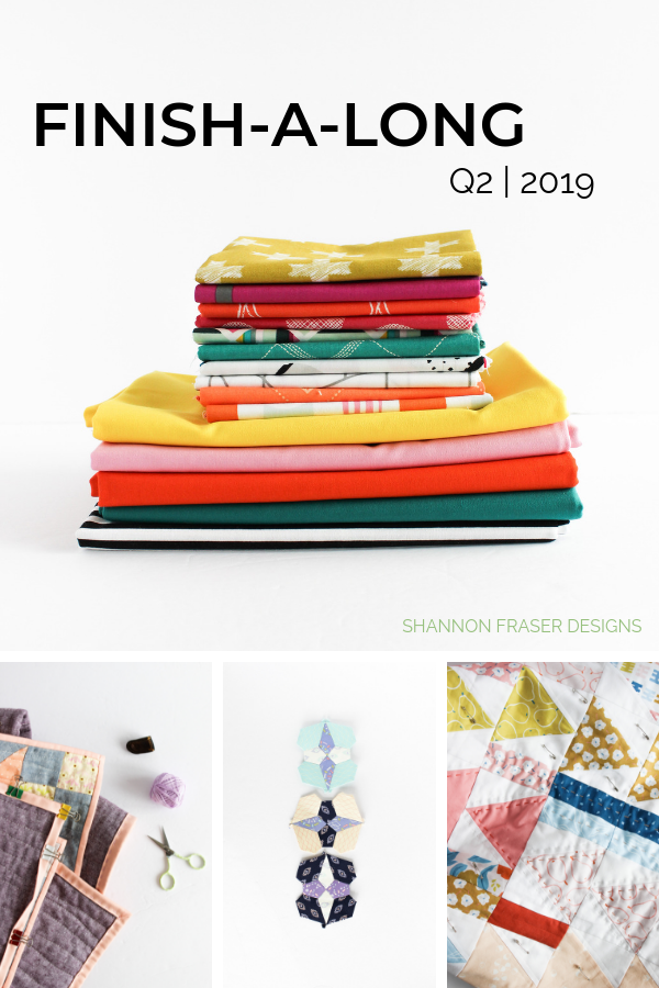 Round-up of quilt projects | Q2 2019 Finish-A-Long Proposed Projects | Shannon Fraser Designs