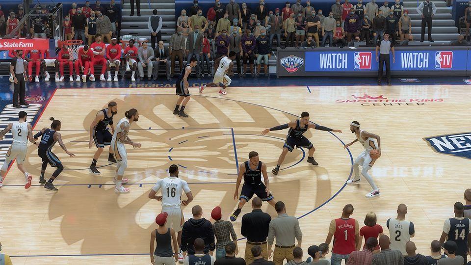 NBA 2K21 Ungak Pelicans Pack by joseph Elopre