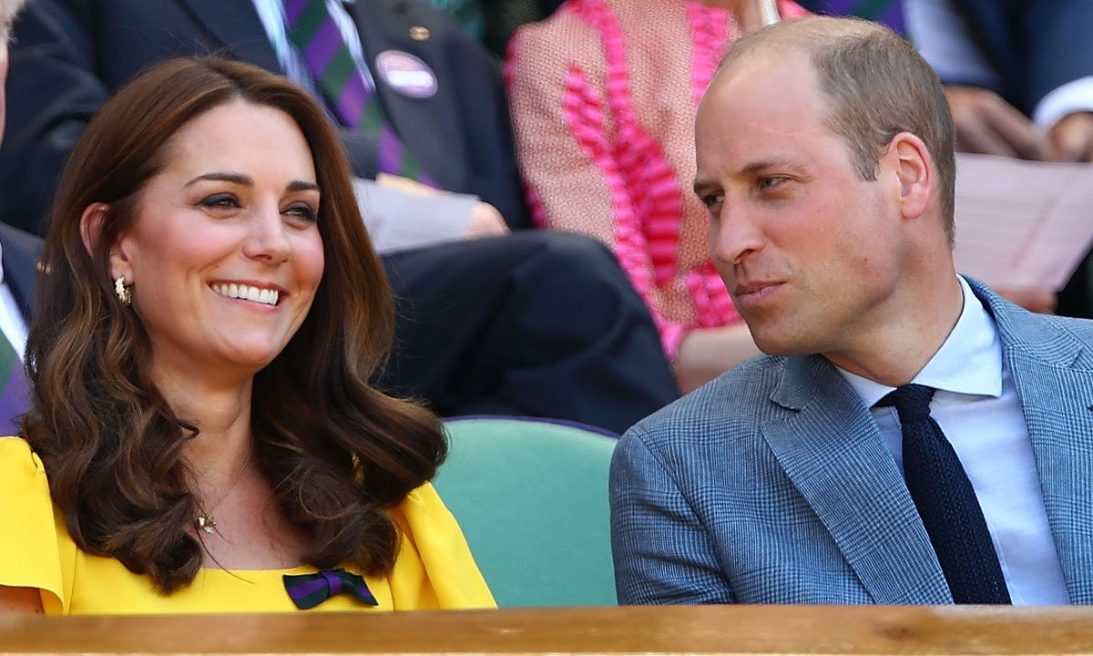 Radiant Kate, 36, donned a £1,150 sunflower yellow dress by Dolce & Gabbana for the occasion