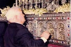 Salvador Dorado 'el Penitente' el fundador de la primera cuadrilla de hermanos costaleros