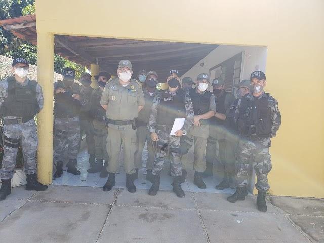 Prata do Piauí: Em encontro com comandantes de policiamentos do Semi-árido e CIA Valença, policiais discutem estratégias de atuações