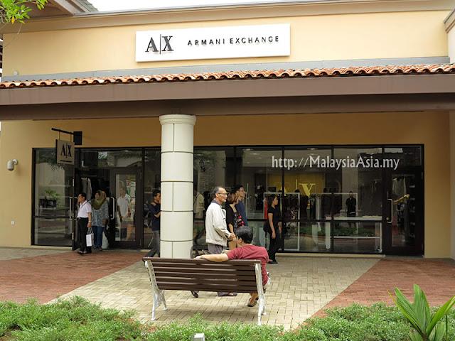 Malaysia Armani Exchange Outlet
