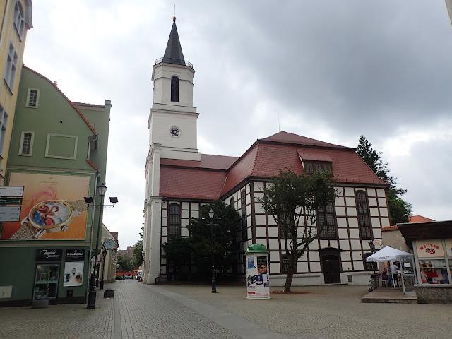 Zielona Góra ma też kościół z muru pruskiego