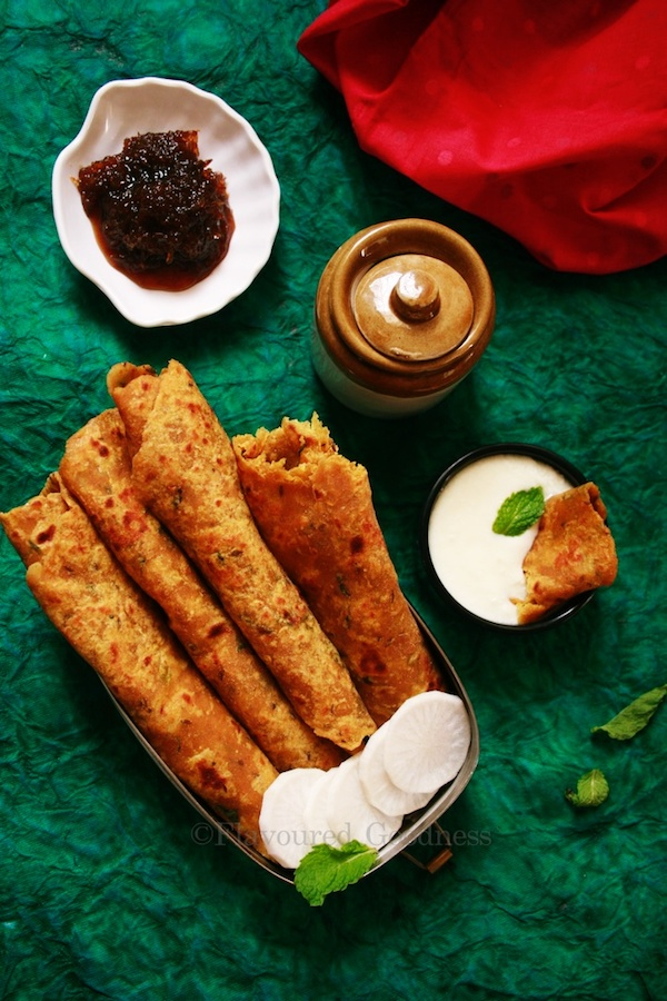Mooli Paratha Recipe | Soft Mooli (Raddish) Paratha