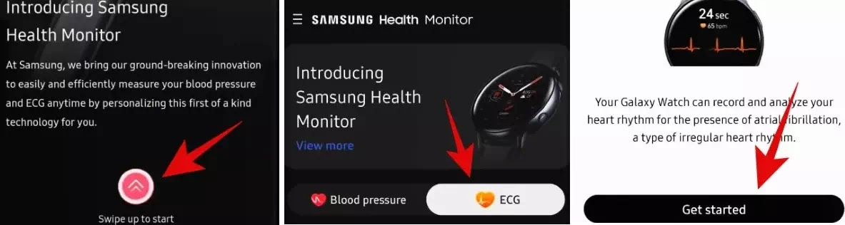 Cara Cek EKG di Samsung Galaxy Watch-3