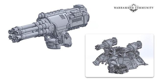 Gatling Blasters Duales de Caparazón