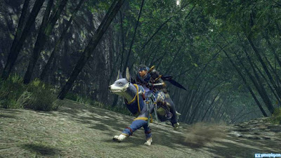Monster Hunter Rise Gameplay with new play-style