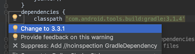 build.gradle (del proyecto) ~ upgrade del build tools