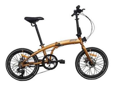 Sepeda Lipat Keren Terbaru Tahun 2020 Element Ecosmo 8x Gowes Lovers