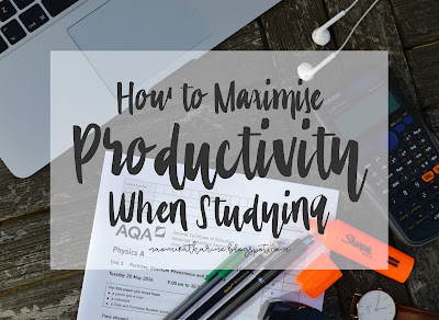 How to Maximise Productivity When Studying