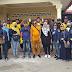 Bersama Mulia Asri Rambe dan AMPI Lawan Corona, Warga Diedukasi dan Rumah Disemprot Sanitezer