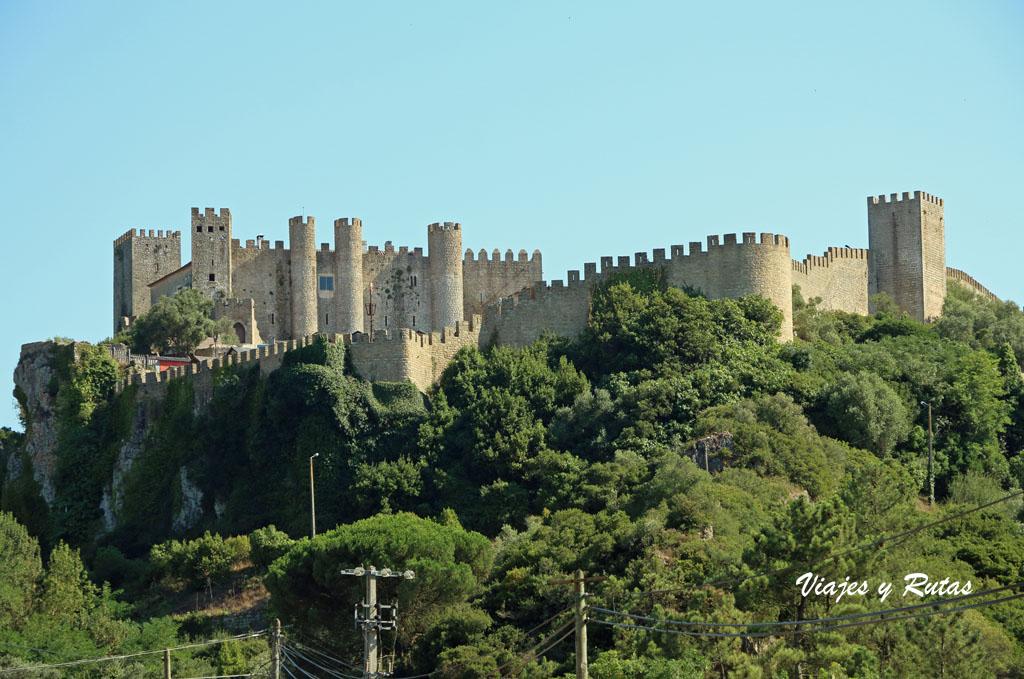 Vista general del Castillo de Óbidos