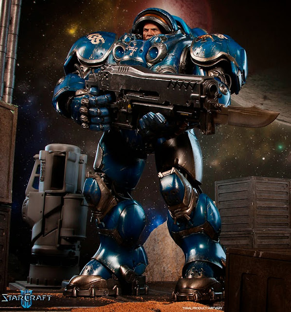 Toyhaven: Pre-order Sideshow Collectibles Starcraft 1/6th