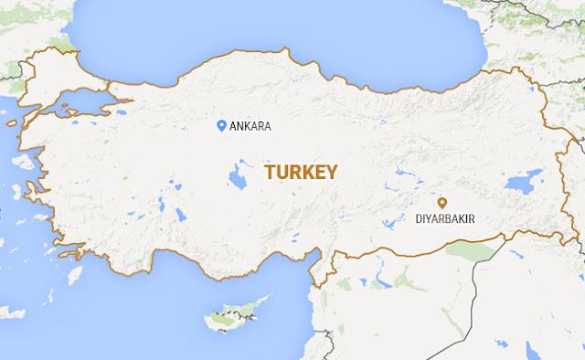 Foguetes disparados em aeroporto da Turquia