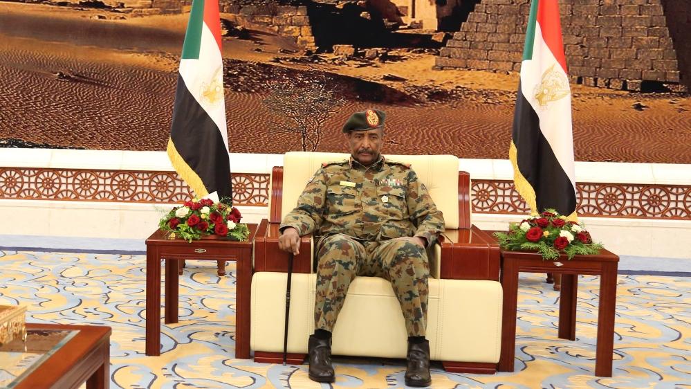 General Abdel Fattah al-Burhan is the head of Sudan's ruling Sovereign Council