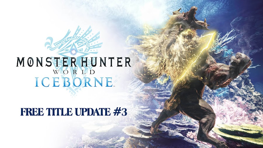 monster hunter world iceborne free title update 3 dlc expansion furious rajang ps4 xb1 action rpg capcom 2020