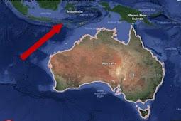 Tahukah kamu! Jika benua Australia selalu bergerak 7cm setiap tahunnya ke arah Indonesia