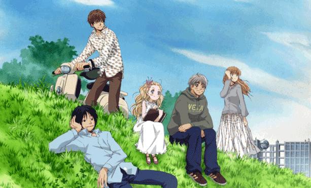 Anime Drama Romance Terbaik - Hachimitsu to Clover
