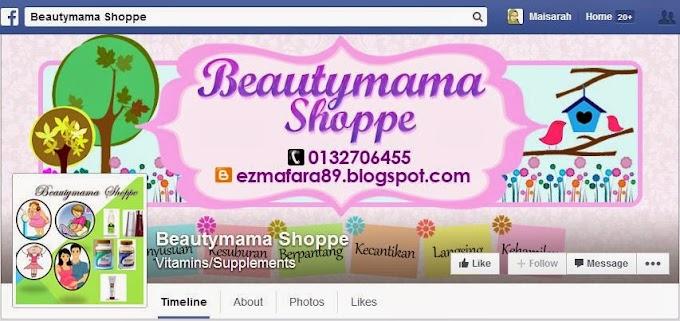 Tempahan Design Facebook Cover Photo: FB Beautymama Shoppe