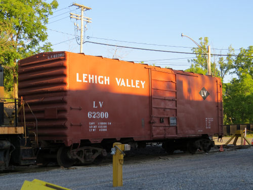 Lehigh Valley Boxcar