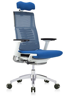 Powerfit Bionic Office Chair with Bluetooth Enabled Seat and Headrest