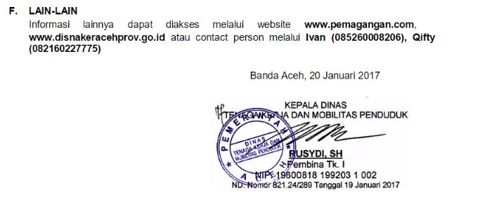 Magang Ke JEPANG - Disnakermobduk Aceh