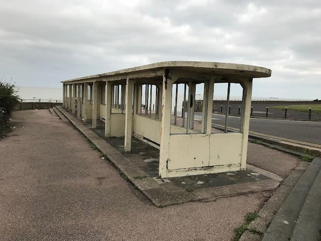 Derelict shelter, Margate, Kent