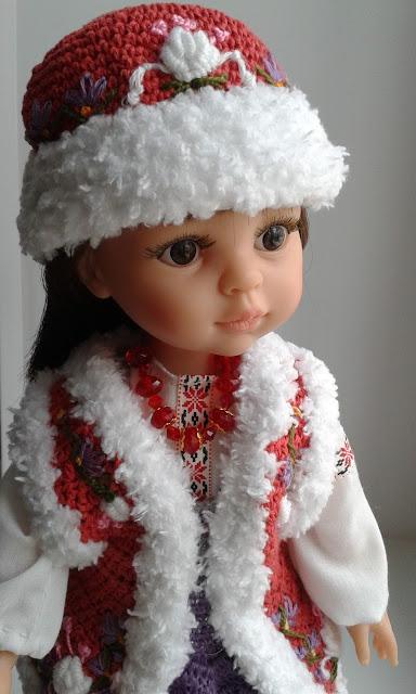 #кукла_Паола_Рейна_работы_Людмилы_Григорьевой