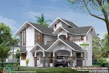Sloped Roof House Design