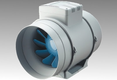 Inline exhaust fan