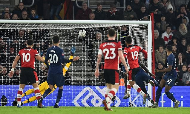 Southampton 1-1 Tottenham: Spurs still need to replay after escaping penalty