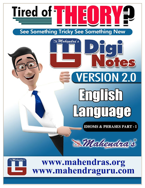 Digi Notes - 2.0 | IBPS Clerk Mains Special | 04 .01. 2018