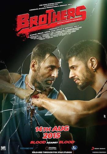 Brothers 2015 Hindi 720p BluRay x264 1.2GB