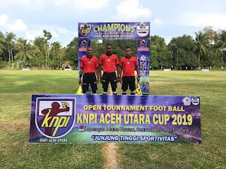 32 Klub Ramaikan Turnamen Bola Kaki KNPI Aceh Utara Cup 2019