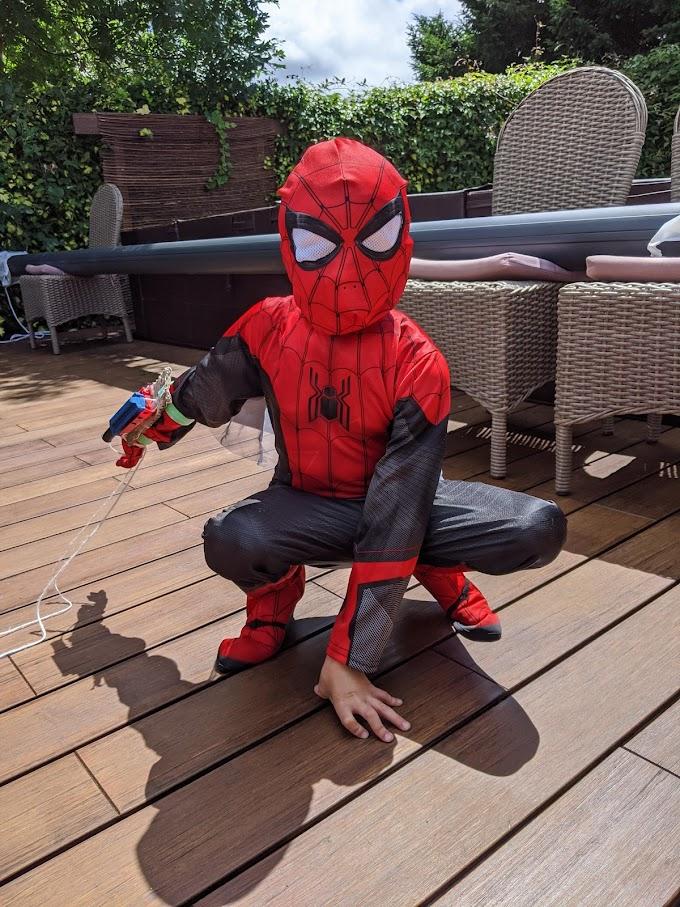 スパイダーマン 5歳‼️