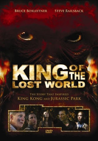 Poster Of King of the Lost World In Dual Audio Hindi English 300MB Compressed Small Size Pc Movie Free Download Only At worldfree4u.com