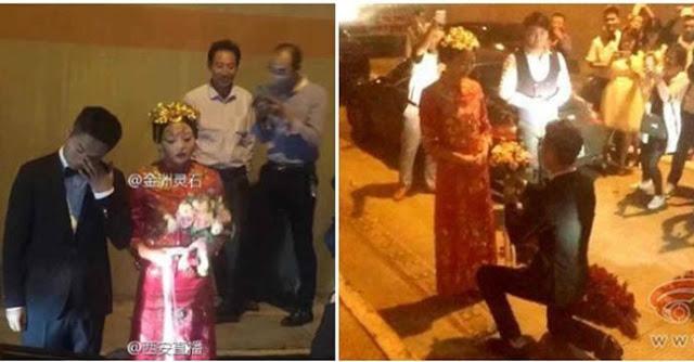 Mau Upacara Pernikahan Terjebak Macet, Yang Dilakukan Pasangan Ini Mengejutkan