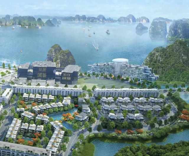 Phân khu biệt thự đẳng cấp tại Mon Bay Hạ Long