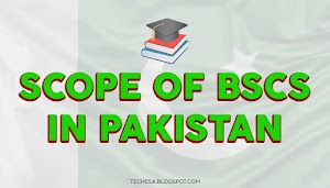 What is the Scope of BSCS in Pakistan?