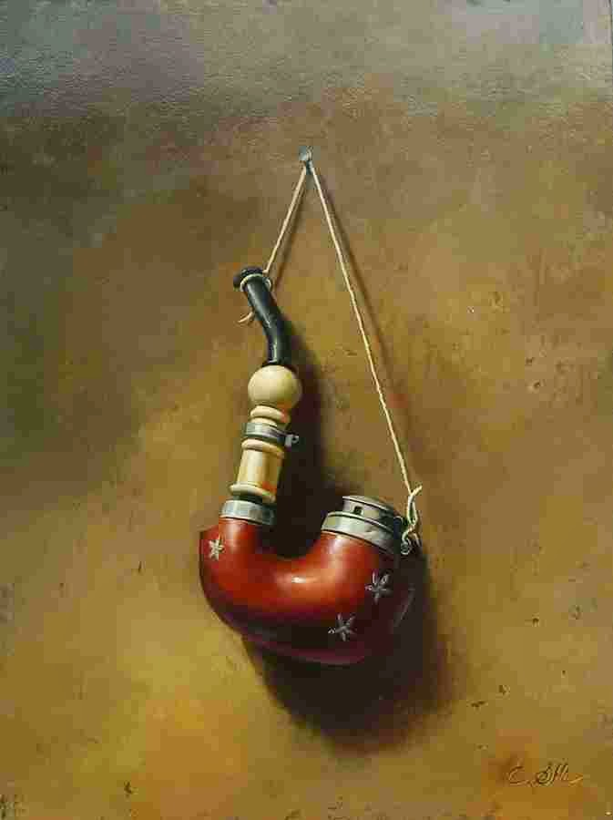 Реалистичные натюрморты. Carle Shi