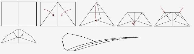 Avión de papel Wing 26