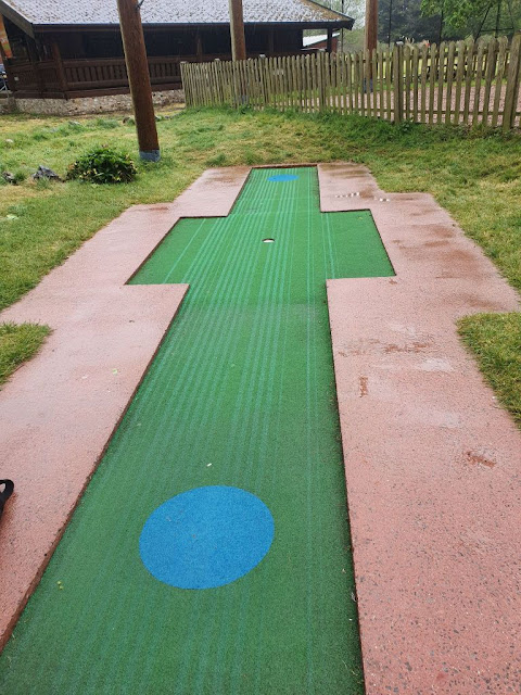 Crazy Golf at Vivary Park, Taunton. Photo by Simon Brown, May 2021