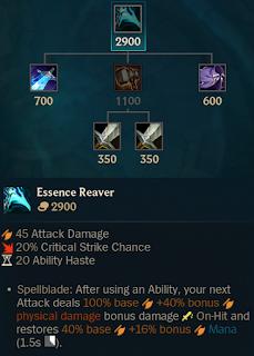 Essence Reaver Nerf