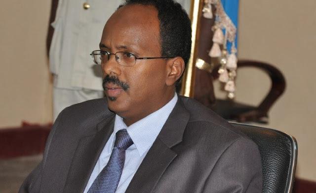 President Mohamed Abdullahi Mohamed 'Farmaajo