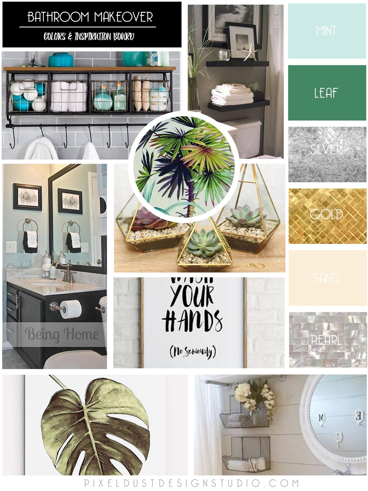 How to make scrapbook using illustration board - My Goal Was To Create A Modern Update That Was Fresh And Relaxing It Was Also Important For Me To Add Some Vintage Touches Throughout Because My House Is