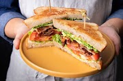 How to make sandwich- simple bacon sandwich - healthy bacon sandwich recipe