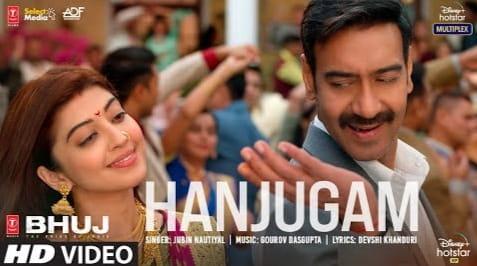 Hanjugam Lyrics in Hindi, Jubin Nautiyal, Bhuj Movie