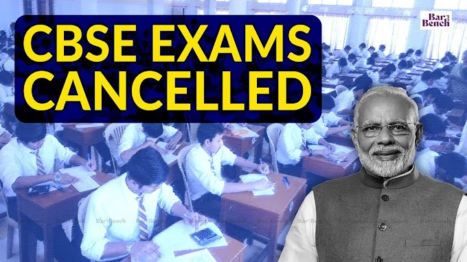 Central government scraps CBSE class 12 board exam for the year 2021