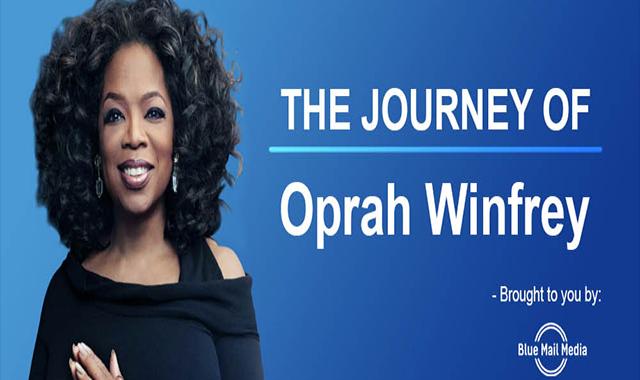 Oprah Winfrey's Journey #infographic
