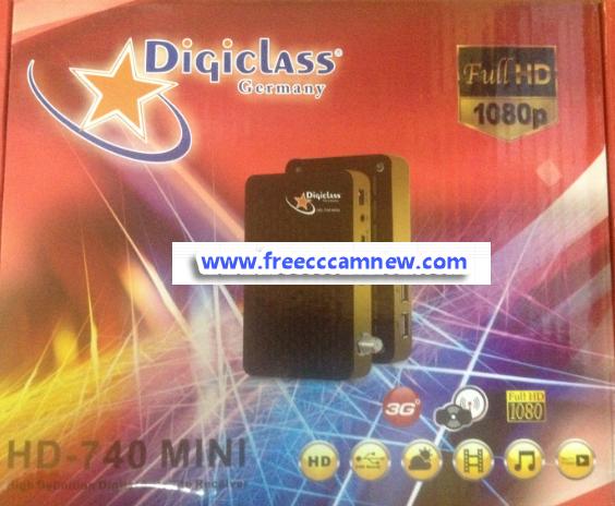تحديث جديد لجهاز DIGICLASS HD-740 MINI خاص بالقنوات الفرنسية,تحديث جديد لجهاز ,DIGICLASS HD-740 MINI ,خاص بالقنوات الفرنسية,